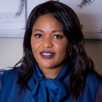 Portrait image of Aicha Abdoulaye smiling