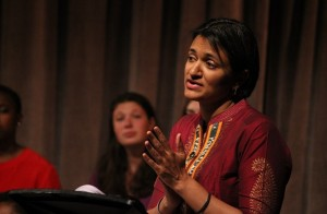 """Archi Pyati performs at """"DC SEVEN,"""" a local adaptation of a powerful documentary play about activism."""